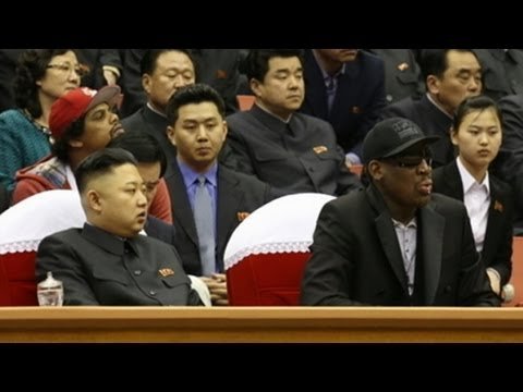 Dennis Rodman Meets North Korea's Kim Jung Un