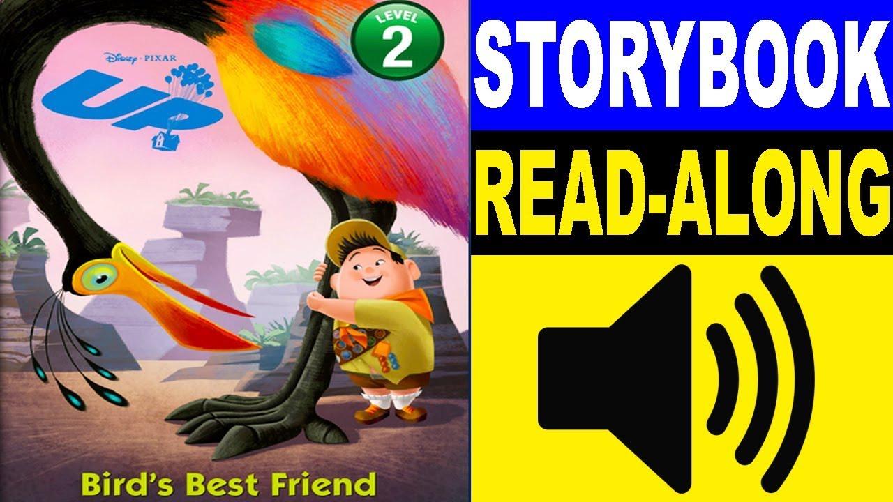 Disney Up Read Along Story Book Read Aloud Story Books For Kids Kids Story Books