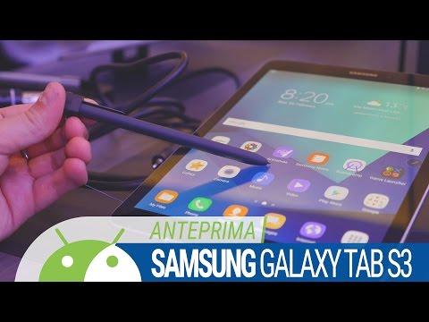 Samsung Galaxy Tab S3 anteprima ITA da TuttoAndroid | MWC 2017