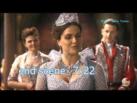 Once Upon A Time 7x22 Ending Scene Regina Crowned as Good Queen Season 7 Episode 22 Series Finale