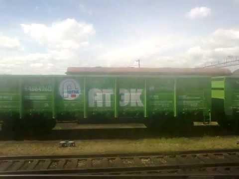 Отправление поезда со станции «Ульяновск - Центральный»