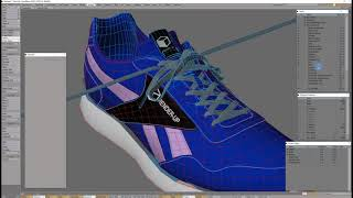 Blue Shoes Making OFF