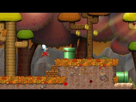 Thumbnail: Newer Super Mario Bros. Wii - Goldwood Forest (Complete World A)