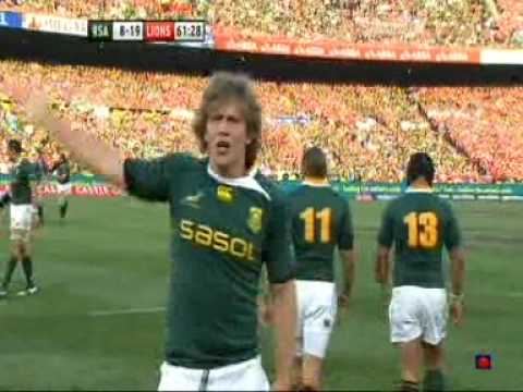 South Africa v Lions Second Test 27th June 2009