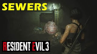 Find a Way Above Ground | How to Get Out of Sewers | Resident Evil 3 Remake (Gameplay Walkthrough)