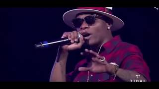 wizkid bought new york over with swizz beatz one africa music fest full perfomance ny us
