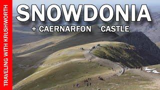 Snowdonia National Park | Climbing Mount Snowdon Wales + Caernarfon Castle