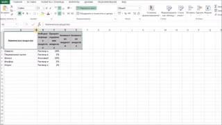 Видеоурок Excel