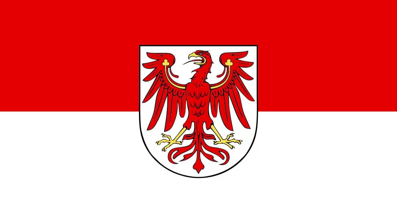 flag of brandenburg germany flagge von brandenburg youtube