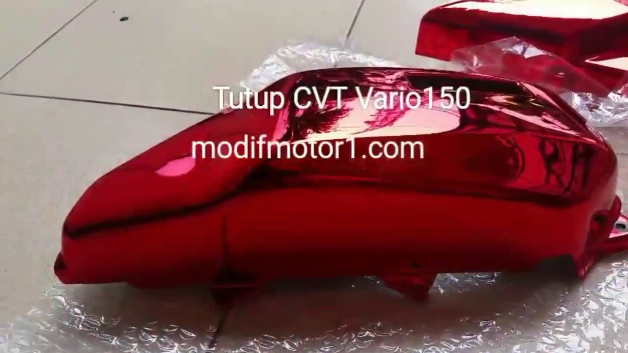 Modifikasi Part Body Honda Vario 150 Youtube Cover Tutup Knalpot 125