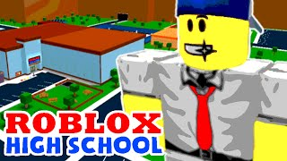 Roblox / High School life / FIRST DAY! / Corl Plays (Roblox Roleplay / Let