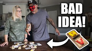 MOUSE TRAP CHALLENGE! *Gone Wrong*