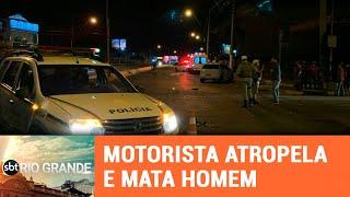 Atropelamento faz vítima em Gravataí - SBT Rio Grande - 18/03/19