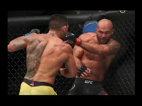 Robbie Lawler tore his ACL and meniscus in the 3rd round of the RDA fight