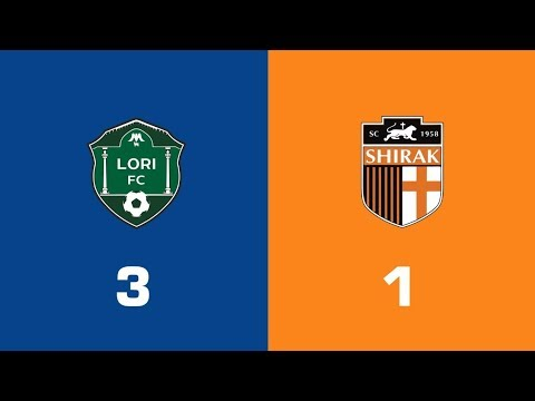 Lori - Shirak 3:1, Armenian Premier League 2018/19