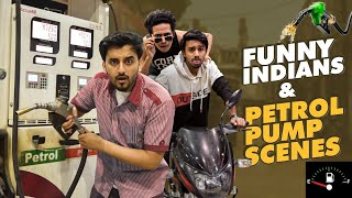 FUNNY BAAP BETA AUR PETROL SCENES | Comedy | The Baigan Vines