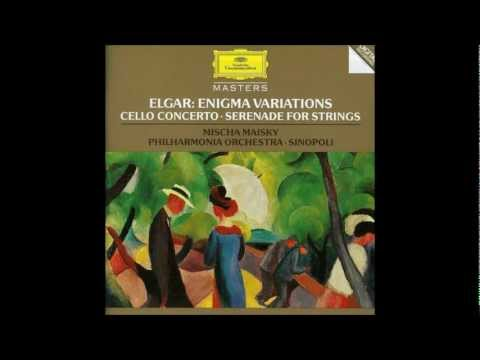 Edward Elgar Serenade for String Orchestra in E minor Op.20, G. Sinopoli, Complete