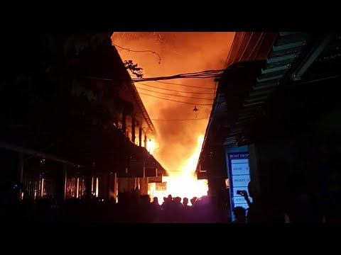 Koh phi phi got hit by a huge fire 6-2-2018 (fundraiser started to rebuild phiphi!)