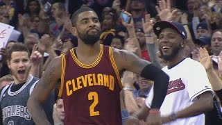 Kyrie Irving Dunks It! LeBron James Air Balls! Houston Rockets vs Cleveland Cavailers