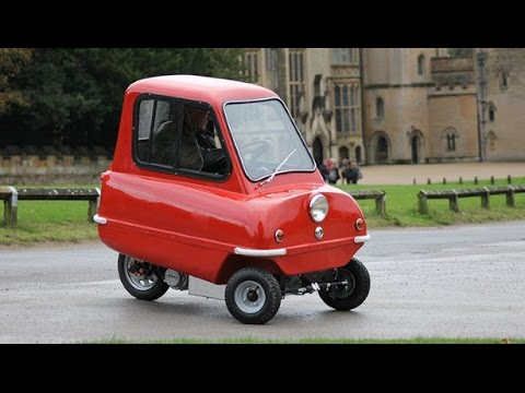 world 39 s smallest car peel p50 smallest things in the world youtube. Black Bedroom Furniture Sets. Home Design Ideas