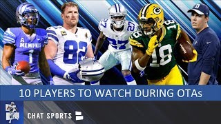 Cowboys OTAs: 10 Players To Watch Out For This Preseason