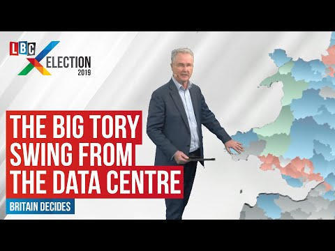 Martin Stanford Uses His Data Centre To Show The Big Tory Swing