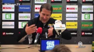 SK Sturm: Mediabriefing vor SV Ried (15. Runde 2015/16)