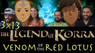 The Legend of Korra - 3x13 Venom of the Red Lotus - Group Reaction