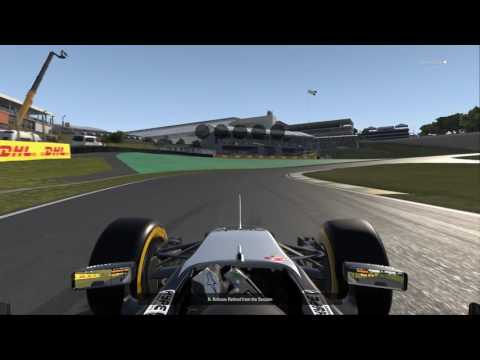 F1 2016 RIOL Race  1BRAZIL  Network Cable Unplugged