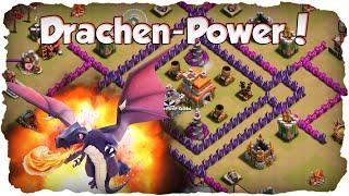CLASH OF CLANS - RH 7 Anti-Drachen Base Taktik: Clan Krieg Angriffe und Verteidigung!   xHeaven