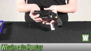 Umarex USA Blank Firing Revolver 2252704 Smith and Wesson Chiefs Special S 9mm RK Black Unboxing