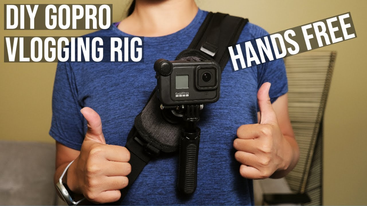DIY GoPro Vlog Setup - Hands Free Version - Best GoPro Accessories