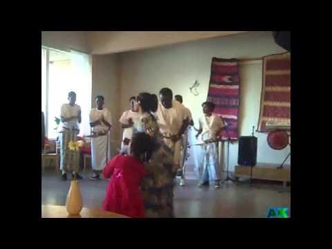 Afar peoples Dance Show Sweden 2012