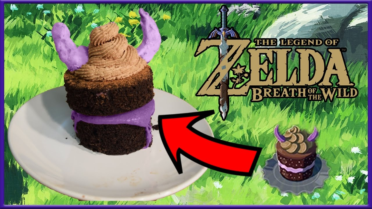 Cuccos Kitchen How To Make Monster Cake Legend of Zelda Breath