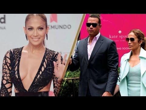 Jennifer Lopez STUNS the Latin Billboard Awards Red Carpet, Reveals Cute Nickname w/ Alex Rodriguez