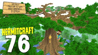 HermitCraft 7: 76 | BIG BRANCH SYSTEM OMEGA TREE