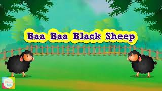 BA BA OVEJA NEGRA/de dibujos animados de canciones infantiles