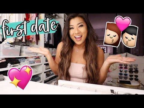 FIRST DATE GET READY WITH ME!!