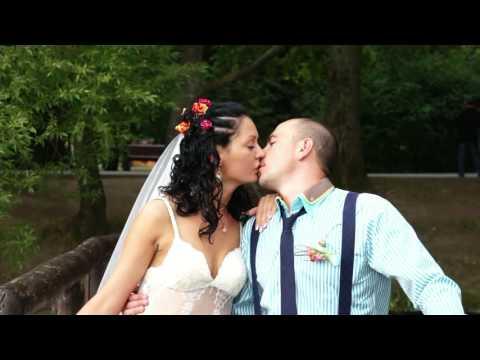 Платье невесты. Видеосъёмка на свадьбу в Подольске