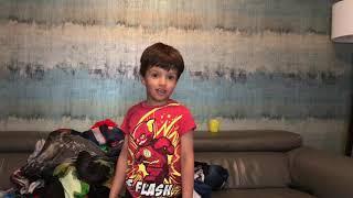Kaiyas & his cousin's dress up!
