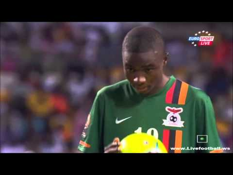 African Nations Cup Final Zambia-Ivory Coast  series penalty (8-7)
