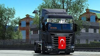 Scania Streamline Turkish Job (1.34) | Euro Truck Simulator 2