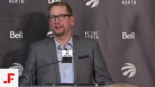 TORONTO RAPTORS POST GAME   NICK NURSE   RAPTORS VS PELICANS   NBA SOUND   10.22.2019