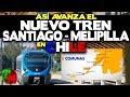 Así será el Nuevo Tren Santiago - Melipilla en Chile