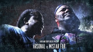 KOTD - Rap Battle - Arsonal vs Mistah F.A.B.