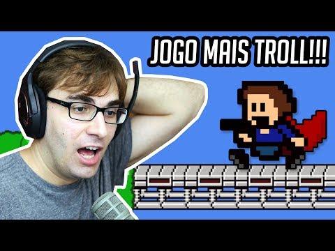 O JOGO MAIS TROLL DE TODOS OS TEMPOS!!! - I Wanna Be The Guy Gaiden