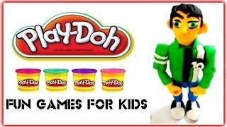 Бен 10 грати Doh - Бен10 Claymotion - як зробити Бен10 грати тісто