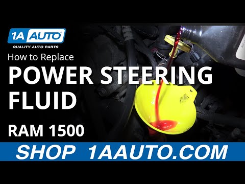 How to Fill and Bleed Power Steering System 2008 Dodge Ram BUY QUALITY AUTO PARTS AT 1AAUTO.COM