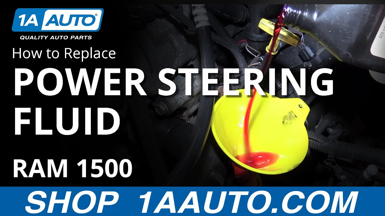 How To Fill Bleed Power Steering System 02 08 Dodge Ram Youtube Smie On 7 Pin Trailer Connector Wiring Diagram For