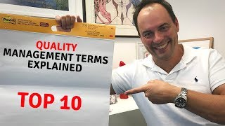 10 Terms a Quality Manager Must Know! (IMPORTANT) Understand the terminology and language